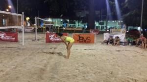 beach volley noche