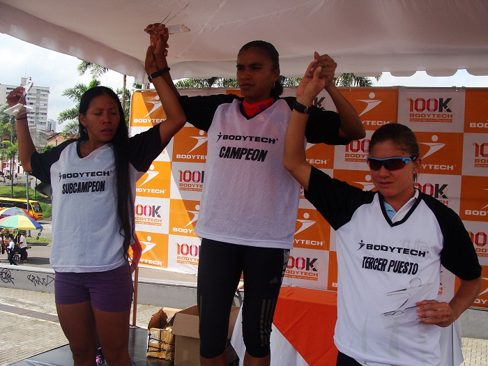 Campeona 10K Bodytech Pereira