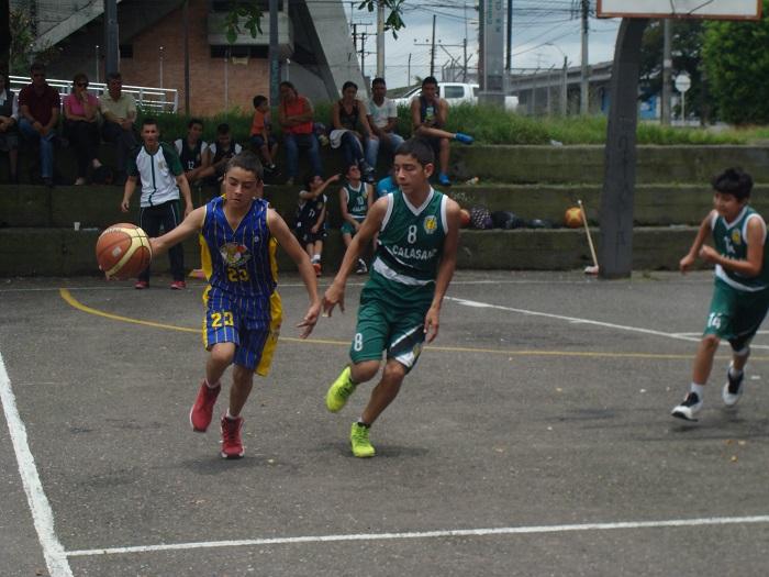 escuela de baloncesto matecañas
