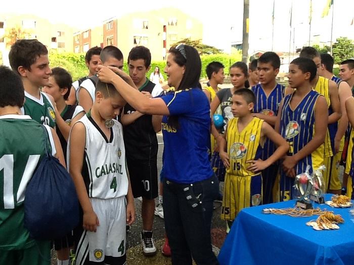 premiacion baloncesto matecañas