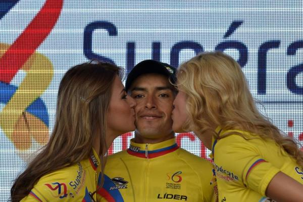 miguel ángel líder Vuelta Colombia