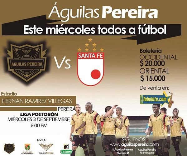 Promocion Boleteria Águilas - Santa fé (1)