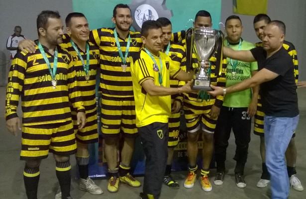 Premiacion campeón
