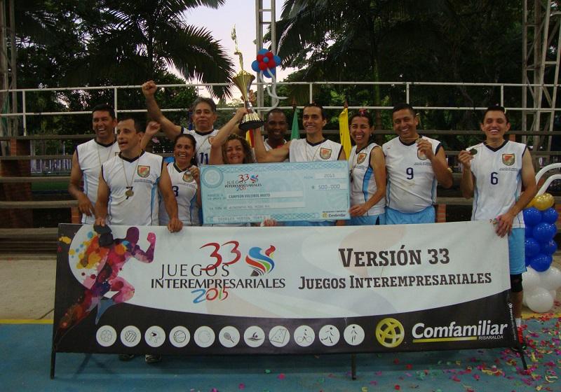 Campeones voleibol