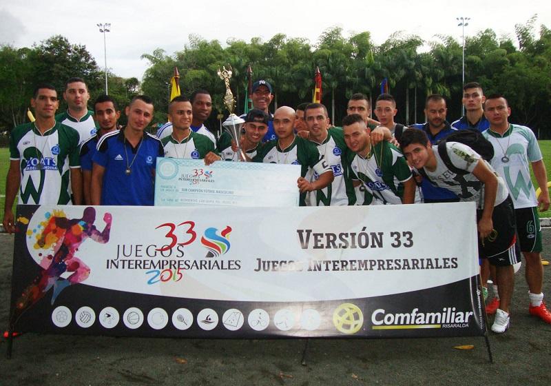Final Juegos Interempresariales Fútbol