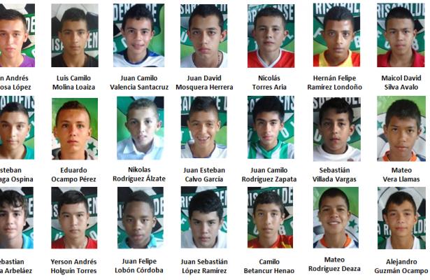 Selección Risaralda Infantil 2016