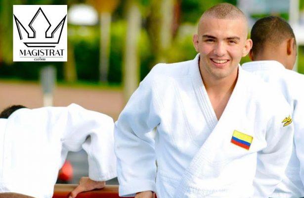 Miguel Ángel Bermúdez, judoca de Risaralda.